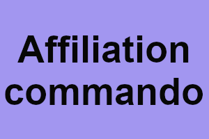Affiliation commando, ou comment réussir avec un site consacré à l'affiliation